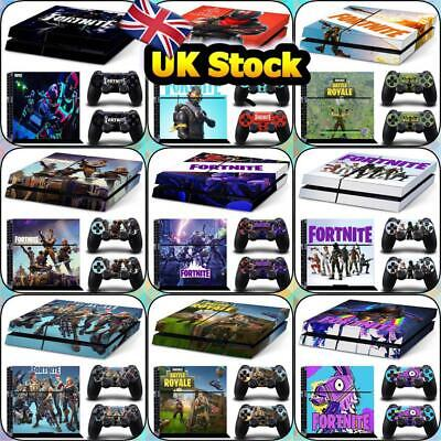 FORTNITE Characters PS4 Stickers Skin Sticker Decals Console and remote control