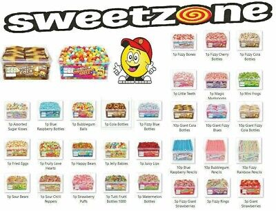 New Sweetzone 100% Halal (Hmc Certified) Jelly Sweets  Tub/Bags  Variety Flavour