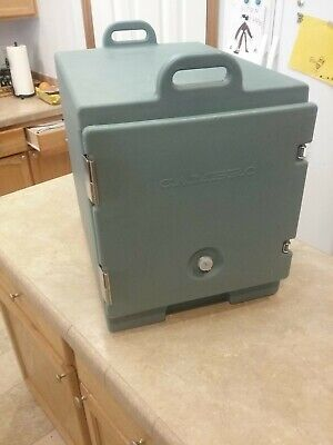 Cambro Ultra Pan Carrier Brown Catering Portable Food Holding Box Insulated