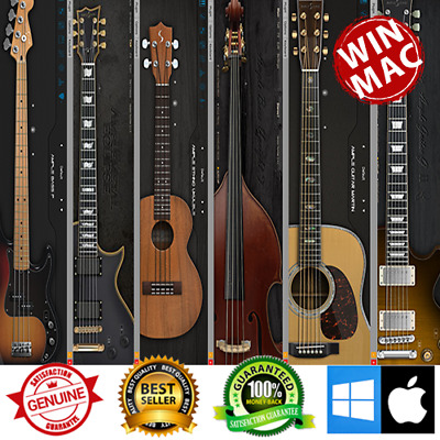 Ample Sound - AME II + Ethno Ukulele III + Bass P + Bass Upright III + Guitar M