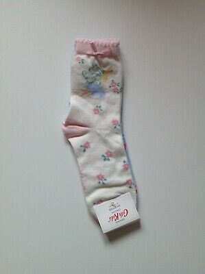 CATH KIDSTON CHILDRENS GIRLS socks 2 Packs (4 pairs)
