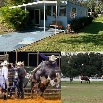 West Gate River Ranch 2 Bedroom House 4 Sale With Land  Dude Ranch! Live Rodeo!