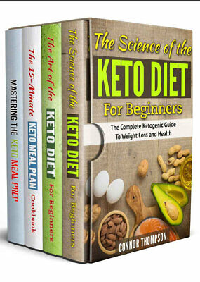 The Complete Keto Diet Plan for Beginners – 4 Book Set  Includes Top 1 ((P.D.F))
