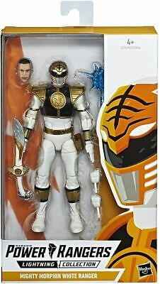Power Rangers Lightning Collection Mighty Morphin White Ranger Collectible