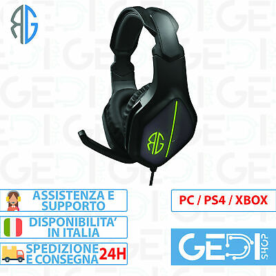 Cuffie Gaming con Microfono PS4 XBOX ONE SWITCH RG M08