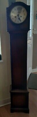 Grandmother clock.1930s.long case. Oak. Collection Only