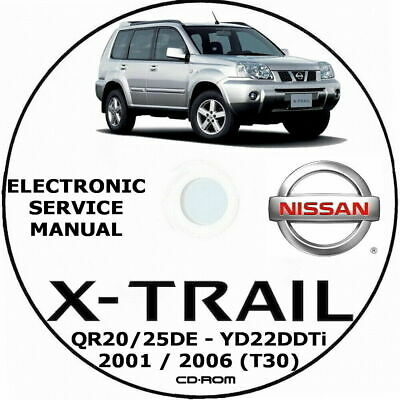Nissan X-Trail T30 2001/2007 - Manuale Officina Workshop Manual Wiring Diagrams