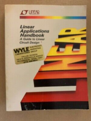Linear Applications Handbook - A Guide to Linear Circuit Design - 1987