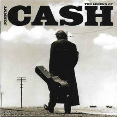 The Legend Of Johnny Cash MUSIC AUDIO CD classic folk rock country greatest hits
