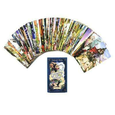Everyday Witch Tarot 78 Cards Deck Fate Divination Board Game Playing Card