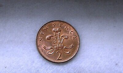 Coins 1971 New Pence 2,UK,England,Great Britain.GREAT CONDITION! FREE SHIPPING!