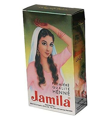 100g Jamila Henna Powder BAQ Body Art Quality 2018 Crop Mehndi Hair Color