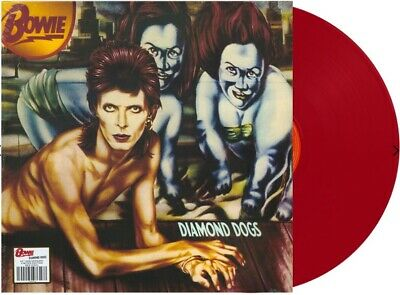 David Bowie Diamond Dogs RED VINYL LP 45th Anniversary NEW & SEALED LIMITED RARE
