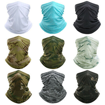 Head Scarf Face Masks Mouth Mask Camouflage Biker Gear Cycling Headband Kerchief