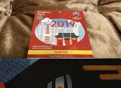 Rugby World Cup 2019 Tokyo Stadium Pack For collection Used from japan
