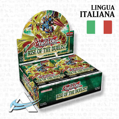 PREVENDITA Box Rise of the Duelists ITALIANO • 24 Buste ROTD YUGIOH ANDYCARDS