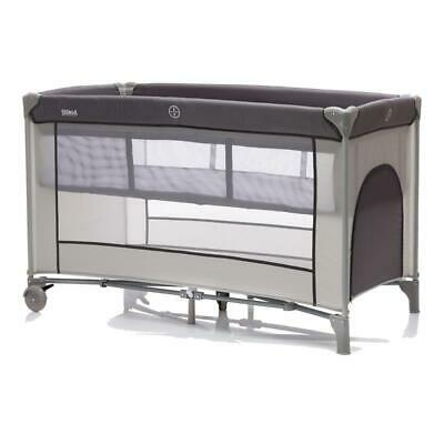 Fillikid Travel Bed Complete Grey with Incl. 60x 120cm