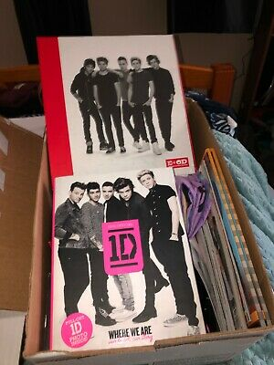 One Direction Collectible Box- Lots of new, never used items!