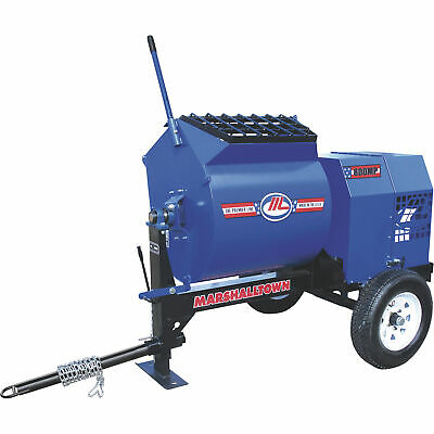 Marshalltown 800MP3EP  3HP Electric Mortar/Plaster Mixer w/Tow