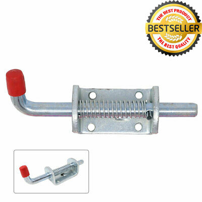 Spring loaded bolt gate door latch trailer quick release catch stable horse box