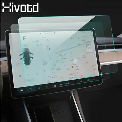For Tesla Model 3 Car Styling Gps Navigation Screen Lcd Tempered Film Protect