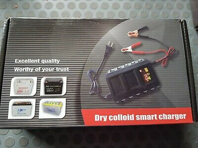DRY COLLOID SMART CHARGER SMART CHARGER 12V uk seller