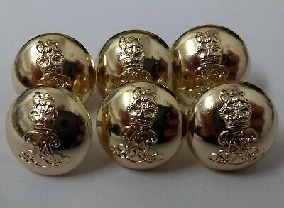 Genuine British Army The Life Guards Regiment Officers Dress Buttons 40L NEW