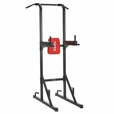 York Standing Workout Tower Chin Up Pull Up Dip VKR Station Strength Power Tower