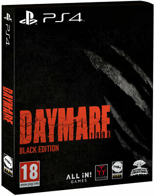 Daymare: 1998 Black Edition (PS4)  BRAND NEW AND SEALED - QUICK DISPATCH
