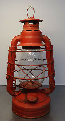 antique kerosene lamp - Antike Stall Laterne Petroleumlampe original Feuerhand