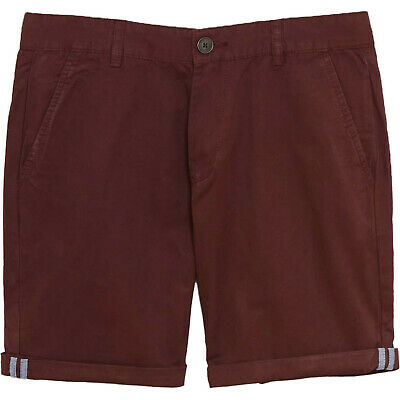 Mens Ex UK Chain Store Chino Shorts Casual 100% Cotton Staright Fit