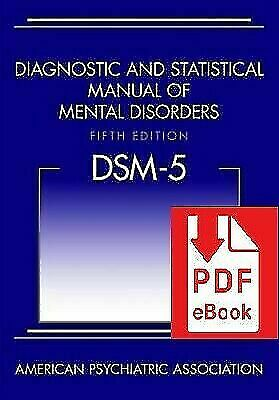 Diagnostic and Statistical Manual of Mental Disorders -DSM5 5th Edition🔥P.D.F🔥