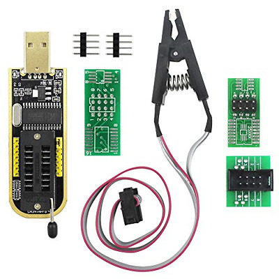 KeeYees SOP8 SOIC8 Test Clip for EEPROM 25CXX / 24CXX with CH341A 24 25 Series