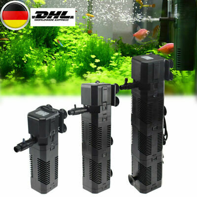 Aquarium Innenfilter Aquariumpumpe Filterpumpe Aquarien Filter 600/800/1200 L/H