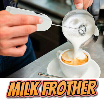 Milk & Coffee Frother Stainless Steel Whisk for Cappuccino