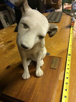 "VINTAGE COLLECTIBLE - ORIGINAL RCA VICTOR NIPPER 10"" DOG *RARE! *HARD to FIND!"
