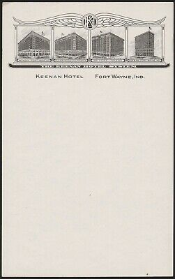 Vintage letterhead BEN MILAM HOTEL with old hotel pictured Houston Texas n-mint+