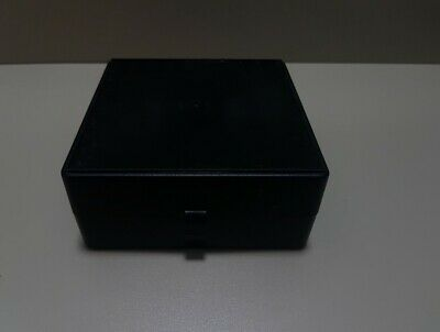 Polypropylene Cryobox for 81 samples sample box black