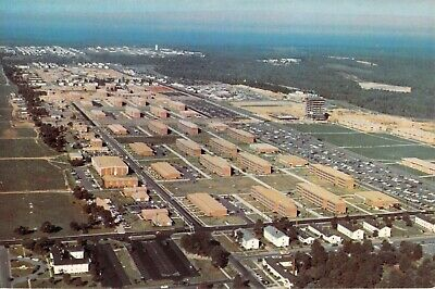 GA Fort Gordon US ARMY Military AERIAL VIEW - 6x9 Dexter Press postcard
