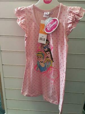 Girls Disney Princess  Pink summer nightdress with tags