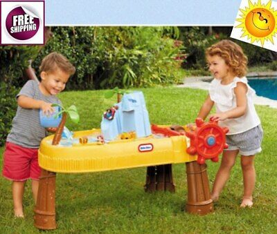 Island Water Table Play Stations Accessories Activity Outdoor Toys Kids New Free