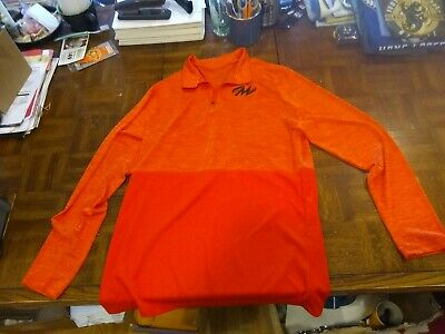 Augusta Sportswear Men's Moisture management long Sleeve Polyester Polo Shirt M