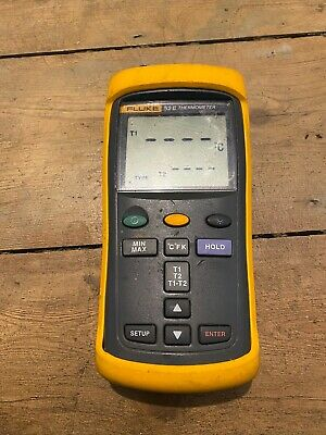 Genuine Fluke 52 II Dual Input Digital Thermometer
