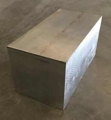 "6"" Thickness 7075 T651 Aluminum Square Bar / Plate 6"" x 6"" x 12"" Length"