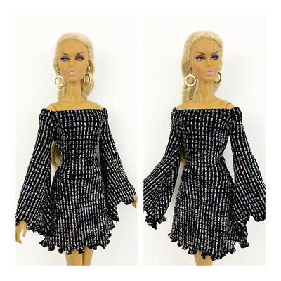 Fashion Royalty Handmade Sequin Dress Integrity Toys Color Infusion Clothes