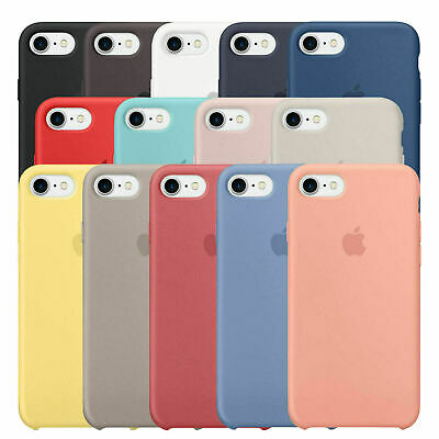 Case for Apple iPhone XS 11 Pro Max XR 8 7 Original Genuine Hard Silicone Cover