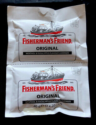 Fishermans Friend Original Menthol & Eucalyptus Caught Sweet Flavour Lozenges
