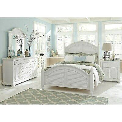 Summer House Oyster White Cottage Dresser White 5-drawer