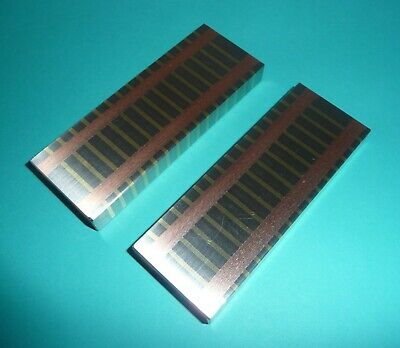 "2 George Scherr Co. Magnetic Transfer Blocks (1/2"" By 1-1/2"" By 4"" Long) USA"