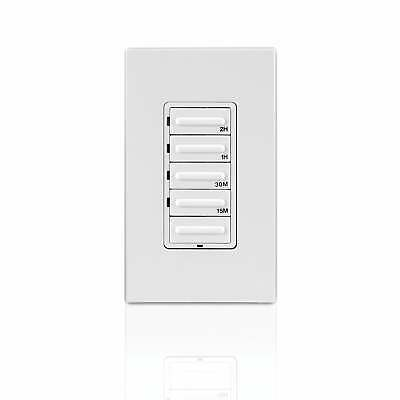 WarmlyYours Hardwired 4-Setting Countdown Timer White